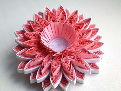 How To Make A Beautiful Quilling Flower - DIY Crafts Tutorial - Guidecentral