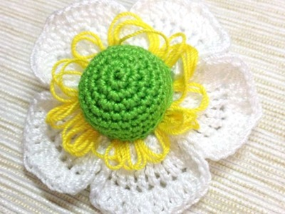 How To Make A Crocheted  Flower Brooch - DIY Crafts Tutorial - Guidecentral