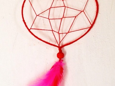 How To Make A Lovely Heart Dream Catcher - DIY Crafts Tutorial - Guidecentral