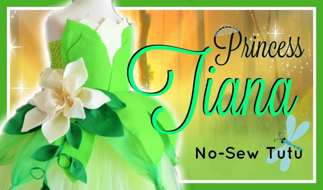 Princess Tiana Inspired Costume Tutu Dress - DIY