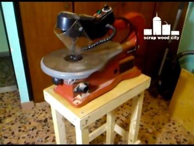 Super easy DIY scroll saw table
