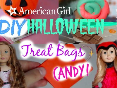 American Girl DIY Halloween Treat Bag+Candy!