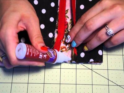 Back to School | 2 DIY Pencil cases & Washi tape pencils {No Sew}