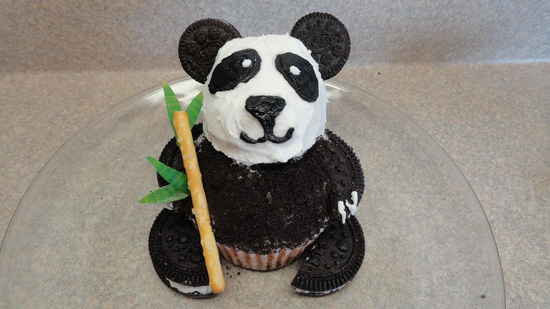 Decorating Cupcakes #86:  Pandas