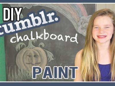 DIY Chalkboard Paint   My Tumblr Bedroom