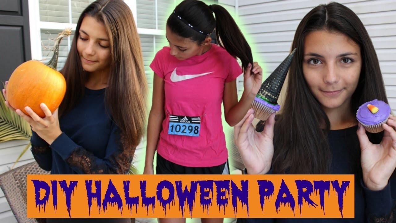 DIY Halloween Party - Treats, Costume, and Decor!