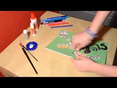 DIY: Make your own diary