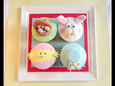 Easter Cupcake Set 2013 - How to Easter Cupcakes tutorials by Pink Cake Princess!