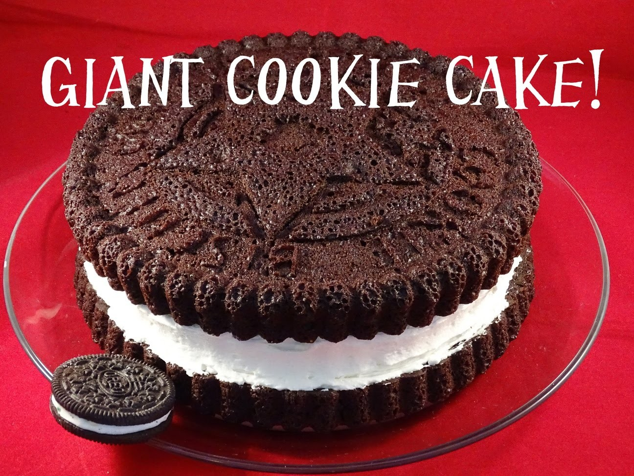 Giant Cookie Cake - with yoyomax12