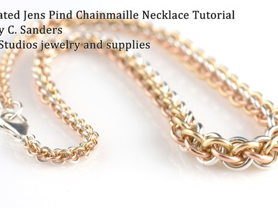 Graduated Jens Pind Chainmaille Necklace Tutorial
