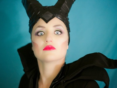 How To Do Maleficent Makeup!
