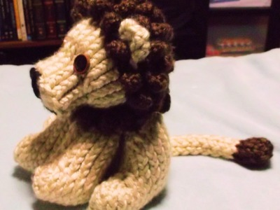 How to Loom Knit a Lion Part 1