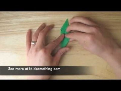 How to make an origami frog - it really hops!
