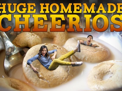 How to Make GIANT Homemade CHEERIOS   Feast of Fiction S3 Ep16