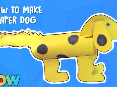 How To Make Paper Dog | Paper Craft | Easy Diy Crafts | Wow Juniors