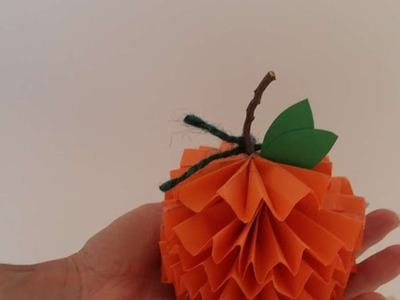 How To Make Paper Pumpkins - DIY Crafts Tutorial - Guidecentral