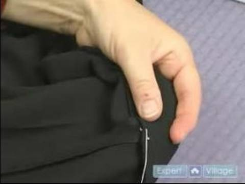 How to Mend & Hem Clothes : How to Hand Hem a Skirt with a Blind Stitch