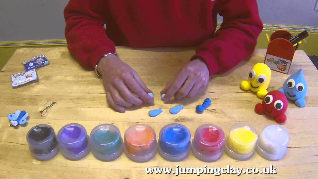Jumping Clay Tutorial - How to make a Butterfly
