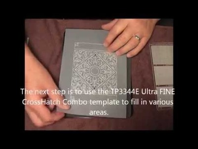 Parchment Craft PCA - 43 Majestic Ironwork and Crosshatch demo