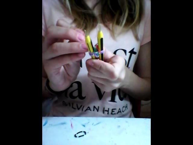 ☆Tutorial:come fare i raimbow bracialet diy☆