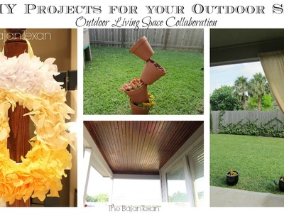 5 Easy DIY Projects for Your Outdoor Space (Outdoor Living Spaces Collab)