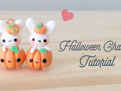 DIY Halloween Bunny Kawaii Polymer Clay Tutorial