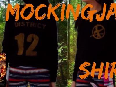 DIY Mockingjay District Shirt (The Hunger Games)