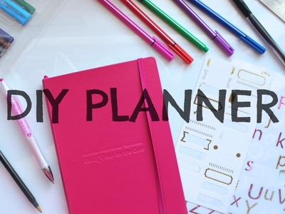 DIY Planner | Diary of a Girly Girl