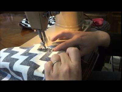 DIY- Thermal Cooking Bag - step by step