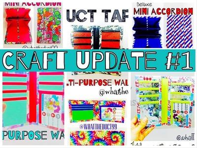 Duct Tape Craft update #1