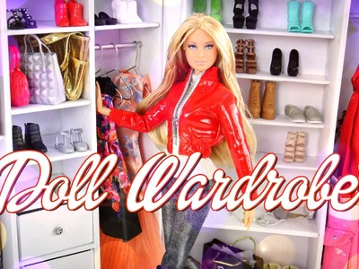How to Make a Doll Wardrobe - Doll Crafts