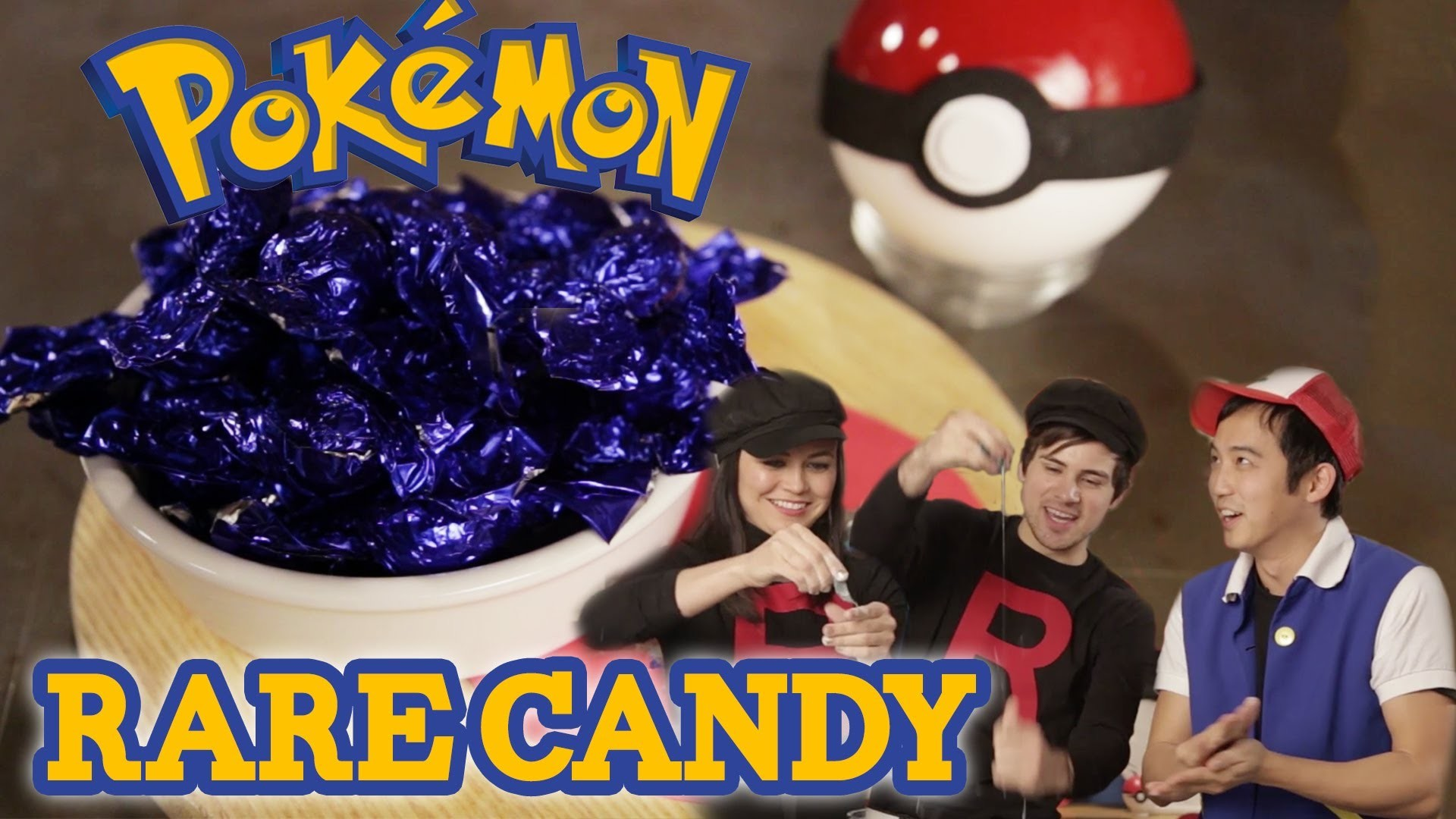 How to make Pokemon RARE CANDY with Anthony! Feast of Fiction S3 Ep10
