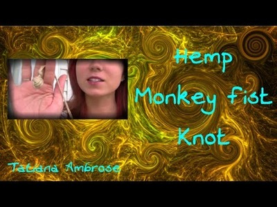 How to: Monkey Fist Knot