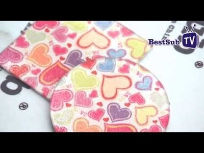How to sublimate glass coasters from BestSub