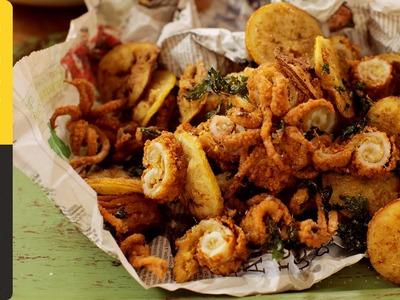 Jamie's Crispy Fried Squid
