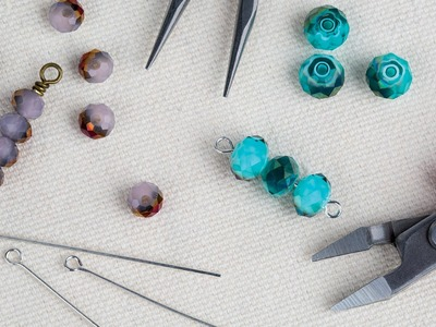 Jewelry 101: Making Simple and Wrapped Wire Loops