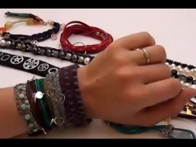 Jewelry How To - Stack Bracelets for a Hip Fashion Look