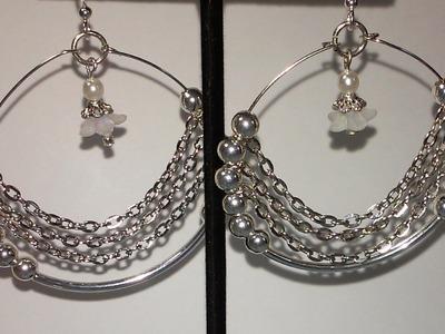Jewelry Making Made Easy # 10 Memory Wire Loop Earrings