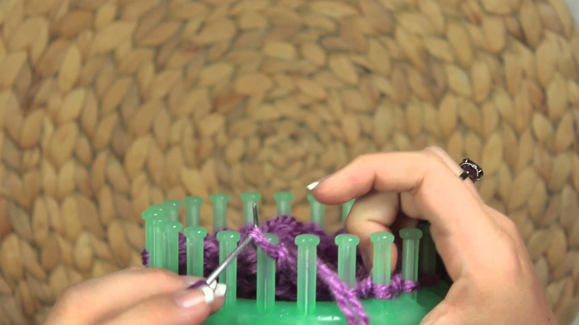 Loom Techniques: Basic Flat Panel Bind off