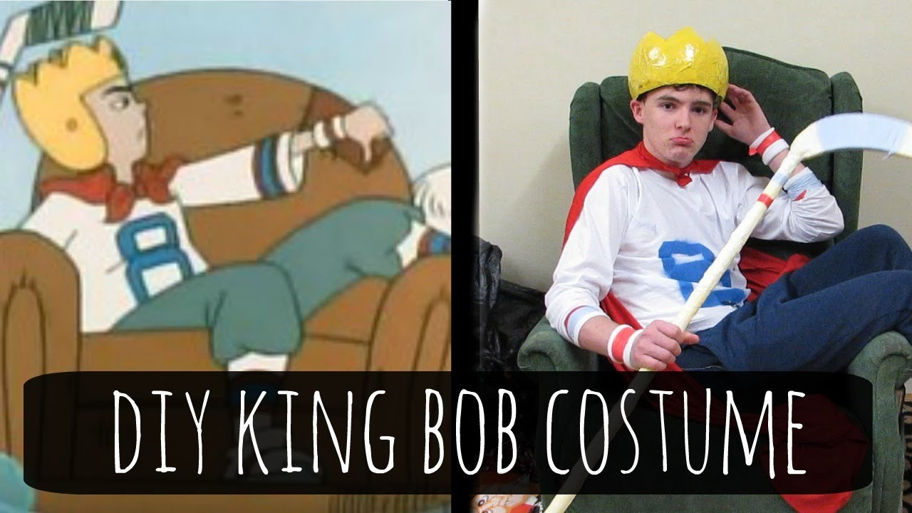 recess - king bob diy halloween costume tutorial