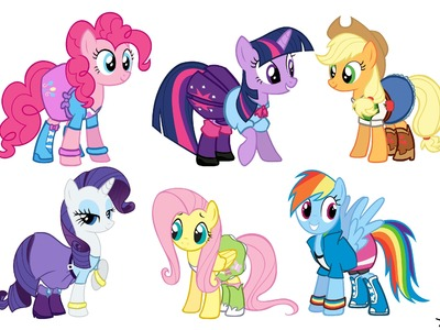 Speed Paint: My Little Pony: Equestria Girls Outfits
