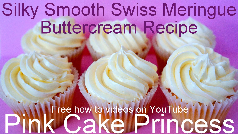 Swiss Meringue Buttercream Recipe - How to Make Swiss Meringue Buttercream by Pink Cake Princess