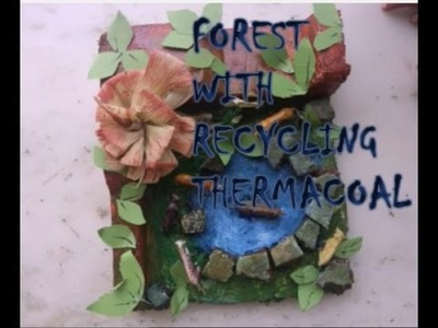 Thermacoal craft idea for kids learning