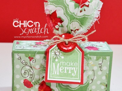 12 Days of Christmas #11 Holly Berry Box