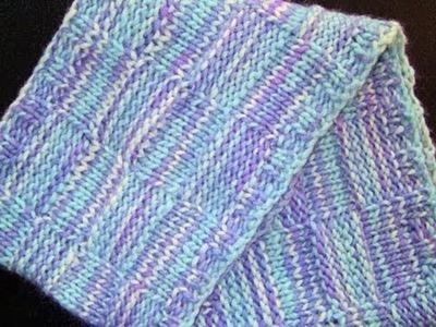Chunky Blocks Cowl - How I dyed the yarn