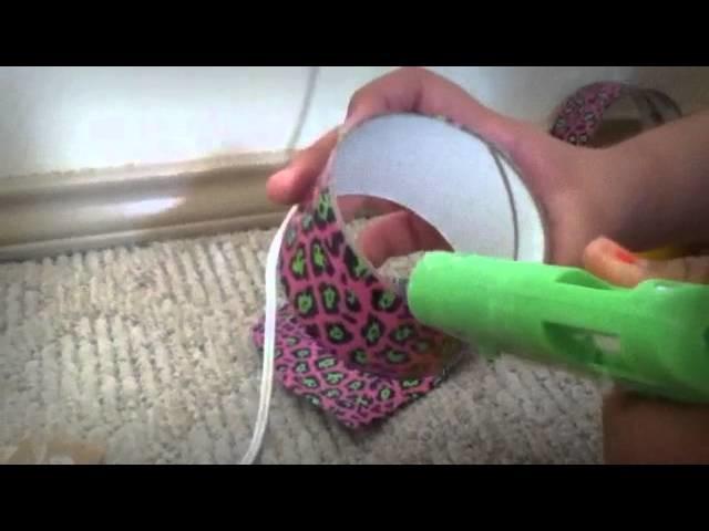 Como hacer un cillon con carton facil para muneca