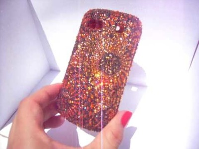 CRYSTALIZED LG COVER. over 3000 Swarovski Crystals on it! by CRYSTAL-RIDERS.COM