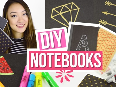 DIY Notebooks for Back to School! Easy DIY School Supplies