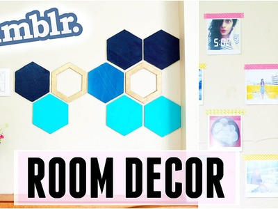 DIY: Tumblr Inspired Room Decor