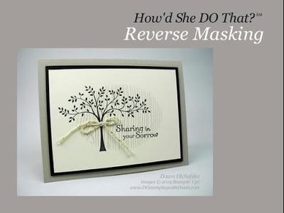 Easy Oval Window Reverse Masking Technique